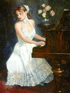 Nenad Mirkovich, 1951 ~ Music playing | Tutt'Art@ | Pittura * Scultura * Poesia * Musica |