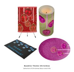 Selection of Christmas Baubles Theme Gifts