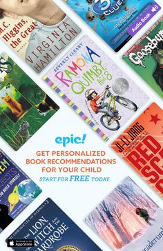 Epic! is the leading all-you-can-read eBook library for kids 12 and under offering unlimited access to over 20,000 high-quality children�s books, now including thousands of read-to-me, Audio books, and educational videos._