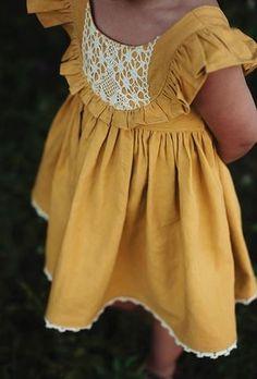 Savannah Dress - Violette Field Threads - - Source by Baby Girl Fashion, Fashion Kids, Toddler Fashion, Sewing Dress, Girls Dresses Sewing, Moda Kids, Baby Kind, Little Girl Dresses, Vintage Baby Dresses
