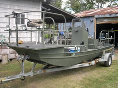 The mother jon boat - king of jon boat mods - mod - modification - fishing