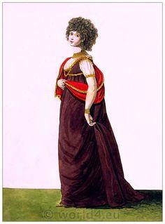 England Opera Dress, February 1796.