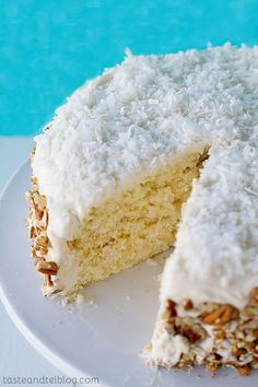 Fluffy Italian Cream Cake