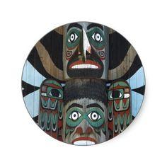 #Totem #Pole #Sticker