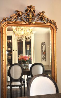 French mirror from Paris