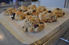 Blueberry Walnut Lavender Scones gotnourishment.com #gotnourishment