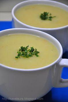 Supa crema de gulie   Retete culinare cu Laura Sava