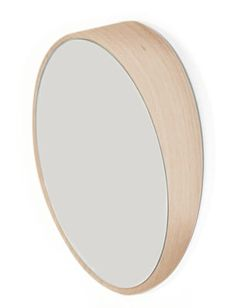 Odilon Mirror - Ø 25 cm Oak by Hartô