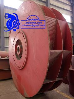 Xianrun Blower: 4.4 Wear resistance lining board in fan impeller b...
