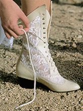 Bridal Boot....another little idea..for support lol