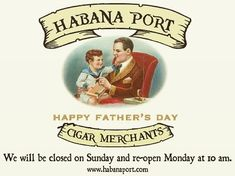 Happy Father's Day! Metairie and Baton Rouge will be closed today while the Riverwalk is open until 7 p.m.