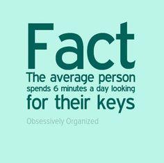 #ObsessivelyOrganized #OrganizingFacts #ProfessionalOrganizer