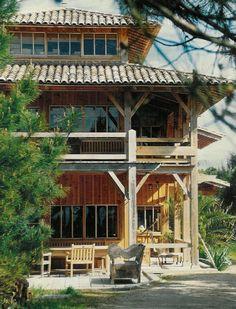 Le Cap Ferret, Villa de vacances avec 7 chambres pour 15 personnes. Réservez la location 1115113 avec Abritel. La Grande Maison de la Pointe du Cap-Ferret