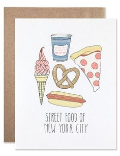 Card: Street Food of New York City