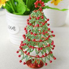 How to Make Christmas Tree Ornament for Desk Decoration (8).jpg