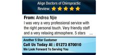 I was very a very professional service with the right personal touch. Very friendly staff...