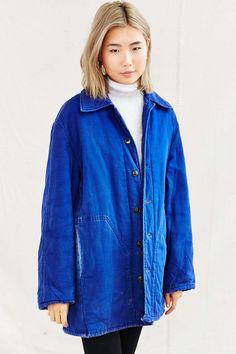 Urban Renewal Vintage Lined French Workwear Jacket