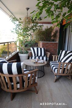 ACACIA - Mesopotamia Outdoor Spaces, Outdoor Living, Outdoor Decor, Porch And Terrace, Condo Living, Balcony Design, Tropical Houses, Inspired Homes, Exterior Design