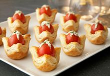 Tomato Jewel Tartlets