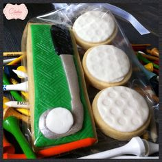 $8 Make a hole in one with these cookies for FATHER's day!  My Cookie Couture