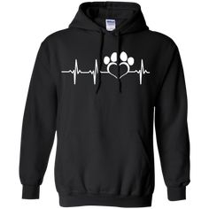 My Dog Is My Heartbeat – Hoodie or Shirt available