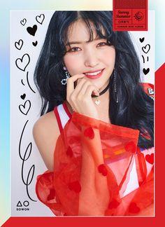 GFriend's Sowon - GFriend Summer Mini Album - Will be released on 180719 Kpop Girl Groups, Korean Girl Groups, Kpop Girls, Extended Play, Gfriend Album, Rapper, Exo Red Velvet, Gfriend Sowon, Photoshoot Images