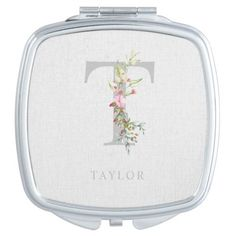 Delicate Elegant T Initial Garland Gift for Her Compact Mirror #vigilidelfuoco #history #holidays mother movie, mother nature, mother baby, dried orange slices, yule decorations, scandinavian christmas Mother Art, Mother And Baby, Mother Nature, Mother Gifts, Gifts For Mom, Dried Orange Slices, Yule Decorations, Mothers Day Shirts, Compact Mirror