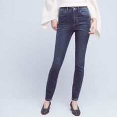 I just added this to my closet on Poshmark: Anthropologie Superscript Ultra High - Rise Jeans   NWT.  Size: 27