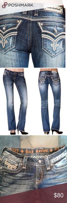 ROCK REVIVAL ASHLEY BOOT STRETCH JEAN ROCK REVIVAL ASHLEY BOOT STRETCH JEAN NEW Rock Revival Jeans