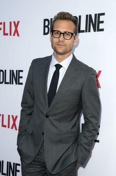 "Gabriel Macht Photos Photos - Actor Gabriel Macht attends Netflix's ""Bloodline: Season 3"" Special Screening Premiere on May 24, 2017, in Culver City, California. / AFP PHOTO / VALERIE MACON - Premiere of Netflix's 'Bloodline' Season 3 - Arrivals"