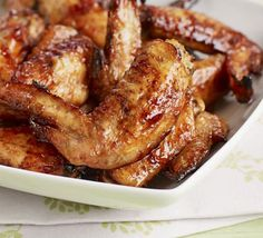 Kids will love these sweet and sticky wings which are quick to prepare and cheap too!
