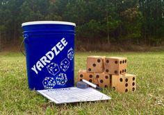 Yardzee Yard Game Lawn Game Giant dice Yard dice by JacksAndJills