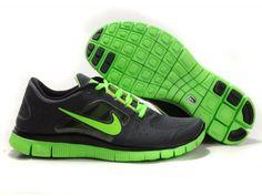 buy online 02905 c2503 ... netherlands mens nike free run 3 running shoes black lime green 3 nike  c5d88 35ead