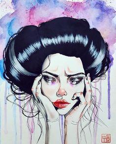 """Chronic dissatisfaction"" | Harumi Hironaka"