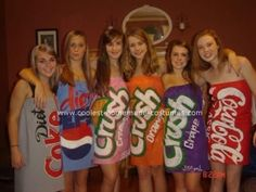 I'd obviously be the Pepsi can...Halloween Costume for Group