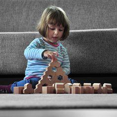 Form Knall Hotz wooden blocks - £19.99 - Toyella