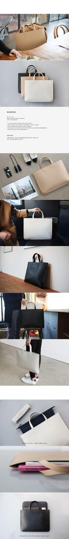 [아이띵소] MILD BRIEF BAG 토트백 숄더백 가방