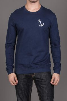 Anchor Sweatshirt- Maybe if I was less of a man and had joined the navy instead of the Marine Corps ...
