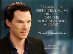 A great Quote by Benedict Cumberbatch