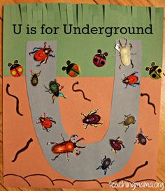 U is for Underground