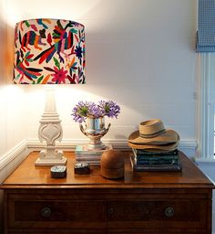 otomi textiles and mexican design for the homethe handmade home Shabby Chic Lamp Shades, Rustic Lamp Shades, Modern Lamp Shades, Amber Interiors, Dark Interiors, Cool Ideas, Creative Ideas, Art Ideas, Decor Ideas