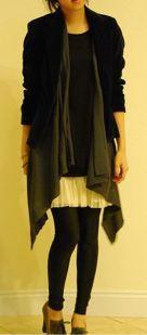 Tutorial: No-sew scarf vest in 10 seconds · Sewing   CraftGossip.com