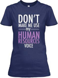 Human Resources Voice | Teespring