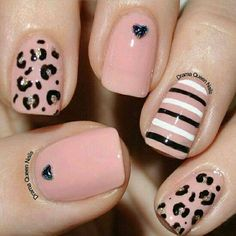 Drama Queen Nails: More fun with striping brushes Get Nails, Fancy Nails, Love Nails, Hair And Nails, Fabulous Nails, Gorgeous Nails, Pretty Nails, Queen Nails, Uñas Fashion