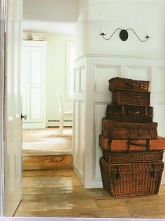 stack the baskets