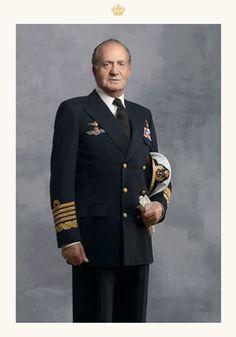 41º Capitán General de la Armada Española. Juan Carlos I 1975