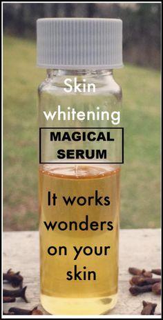 Skin Whitening Magical Serum That You Can Easily Prepare At Home Skin Whitening Magical Serum, das Sie ganz einfach zu. Beauty Care, Beauty Skin, Face Beauty, Diy Beauty Hacks, Beauty Tips, Beauty Ideas, Beauty Products, Beauty Habits, Beauty Secrets
