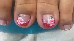 Pedicure Designs, Gel Nail Designs, Toe Nail Art, Toe Nails, Mani Pedi, Manicure, Beautiful Nail Art, Nail Arts, Mehndi Designs