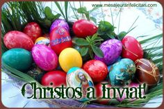 Christos a Inviat! Clematis, Easter Eggs, Easter Activities