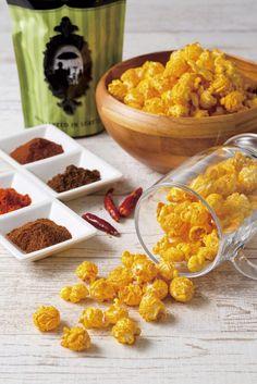 KuKuRuZa Popcorn濃厚チーズとスパイスの刺激が楽しめる新味スパイシーチェダー新発売